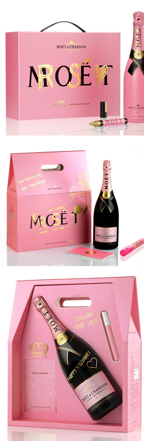 Personalize your own Moet champagne PD
