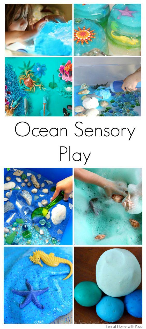 15个海洋感官玩耍的想法为孩子
