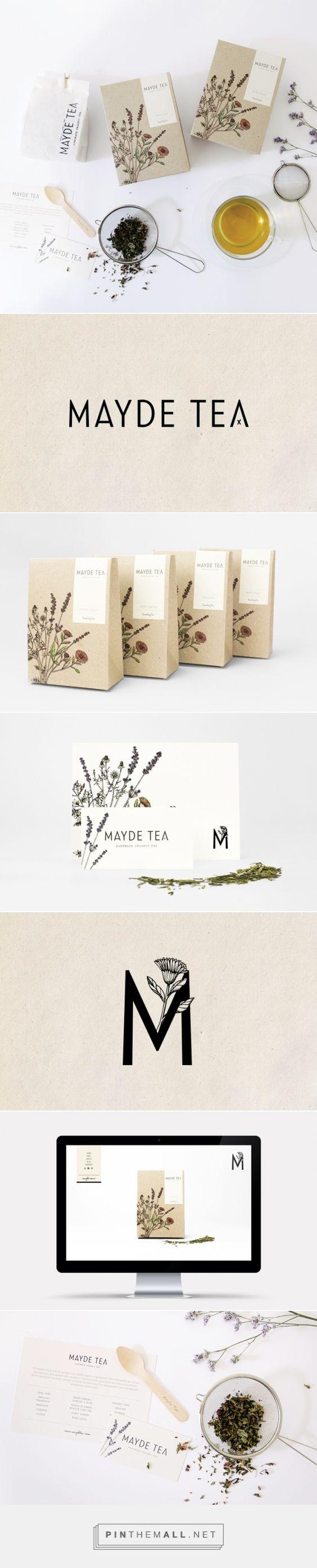 MAYDE Tea Branding and Packaging by Smack Bang Designs   Fivestar Branding – Design and Branding Agency & Inspiration Gallery