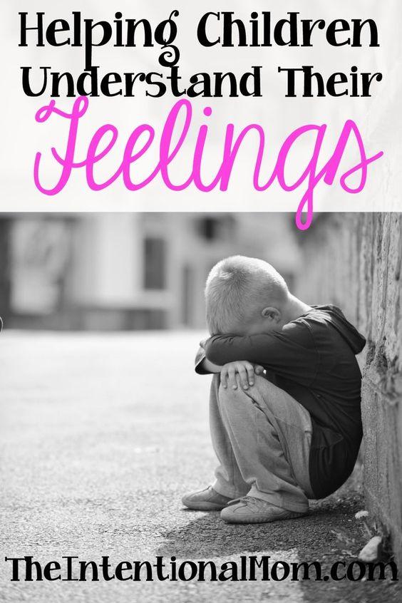 教导孩子的事情很多。感情是我们所有人都有的,但作为父母,我们必须帮助孩子理解他们。