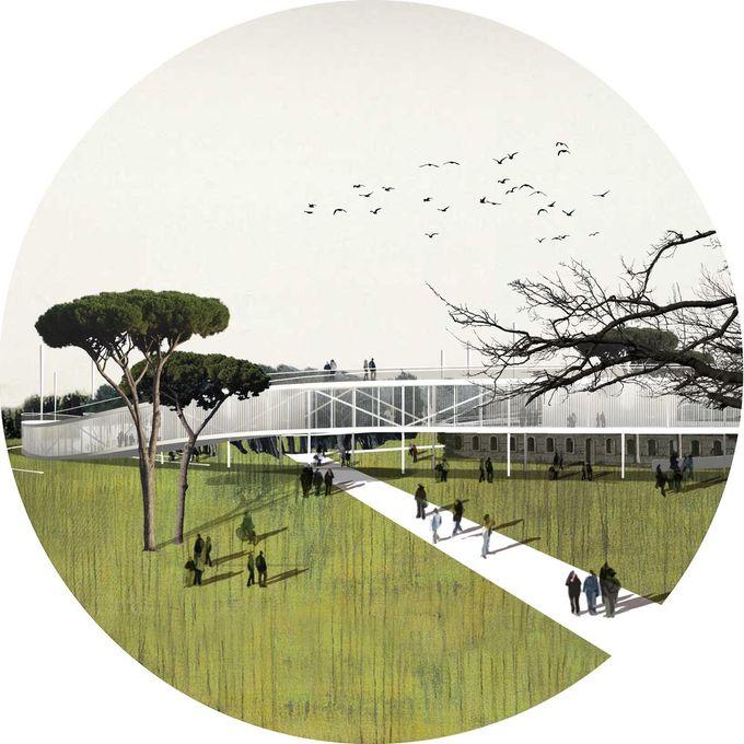 Openact Architecture将生态驱动的研究园区设想为Bandirma的未来中心,©Openact Architecture