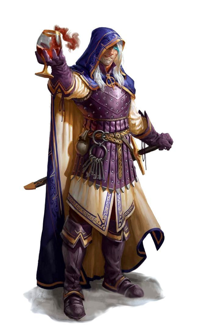 Male Human Magus - Pathfinder PFRPG DND D&D d20 fantasy