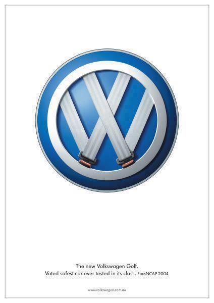 大众高尔夫的伟大艺术指导......在同级别中投票选出最安全的汽车。