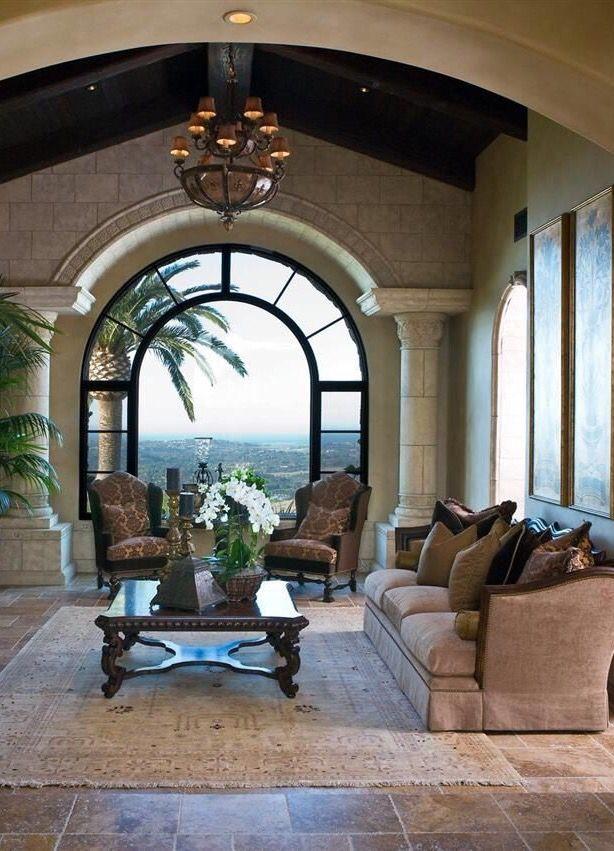 客厅 - 令人惊叹的窗户......户外生活空间的守护者......切丽