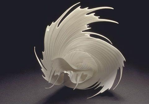 2002 - 45cm -- porcelain by Paula Bastiaansen