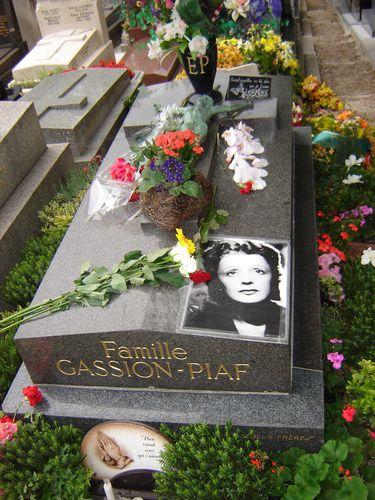伊迪丝Piaf墓,Pere Lachaise巴黎