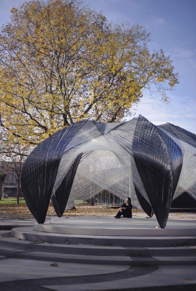 ICD / ITKE研究馆/斯图加特大学建筑与城市规划学院