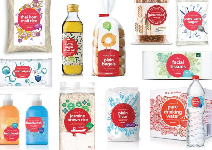 RedMart Private Label Packaging on Packaging of the World - Creative Package…