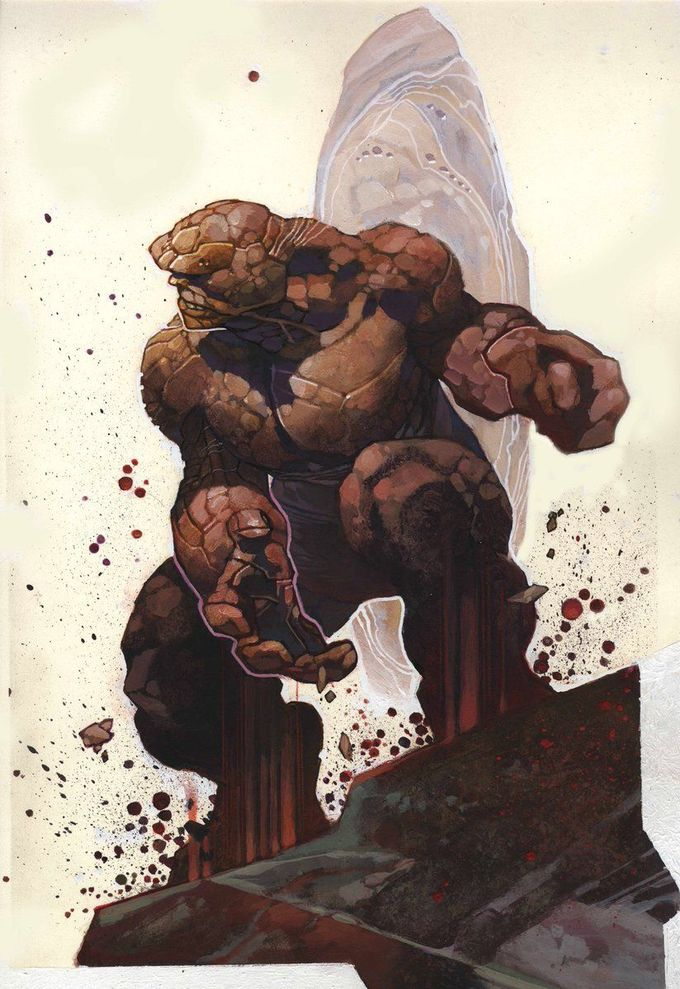 Fantastic Four: Ben Grimm - The Thing by Simone Bianchi *