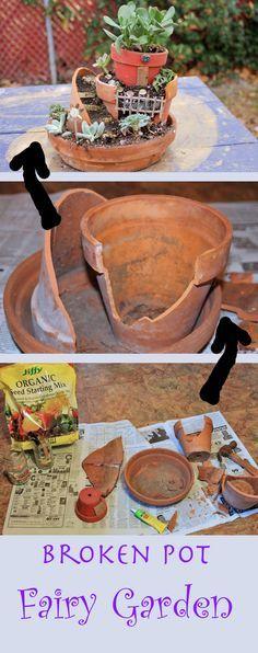 我在一个大箱子的故事中看到了一个仙境花园的工具包,被吹走了。他们提供廉价的塑料赤土陶器色彩的盆底和便宜的仙女式...