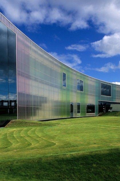 Herzog&DeMeuron Laban舞蹈中心,英国