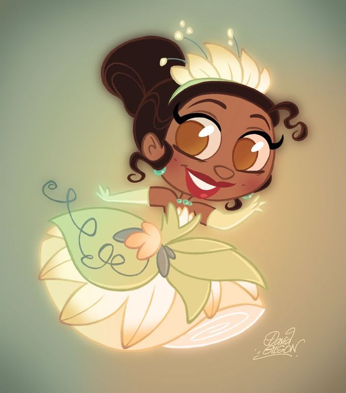 Tiana (Chibis by David Gilson)