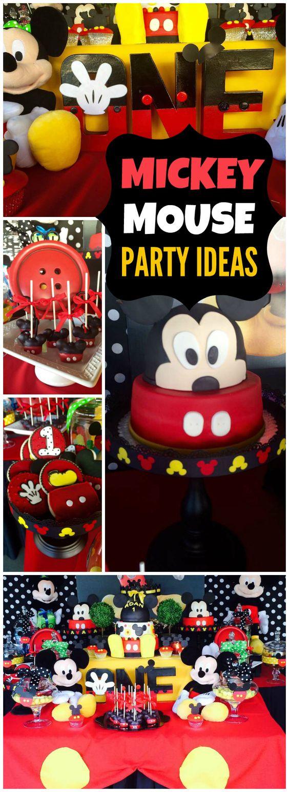 Maggie的魔法生日/米老鼠 - 赶上我的派对的第一个生日