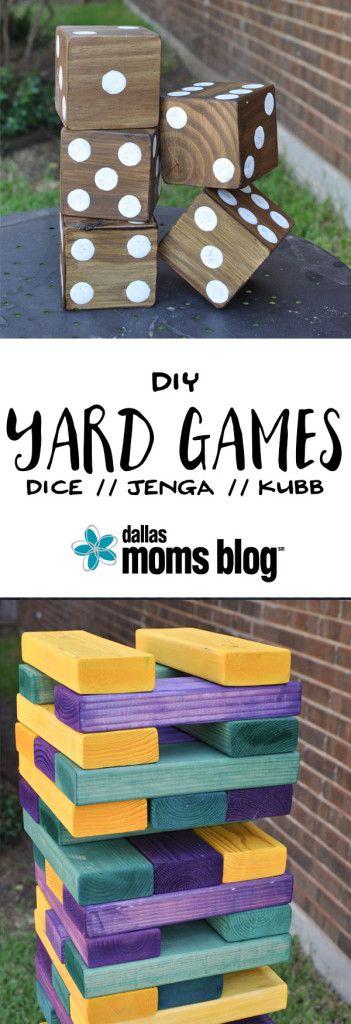 今天,我在达拉斯妈妈博客上告诉你如何制作3个DIY巨人夏日后院游戏 -  Yard Dice,Kubb和Jenga。看到在达拉斯妈妈博客的DIY巨人夏日后院游戏博客我认为这将是一件很棒的事,分享一个伟大的骰子游戏,甚至可以让你最年轻的玩家使用DIY Yard Dice。这是一个叫做Cooties:Games的小游戏