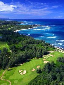 夏威夷高尔夫|海龟湾帕尔默课程北岸高尔夫球场