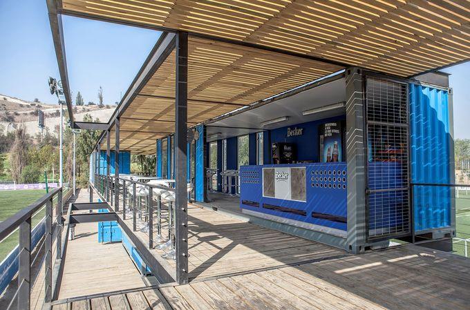 Instalaciones Complejo Rinconada / PAR Arquitectos