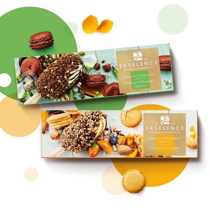 #packaging #design #package #box #icecream #food