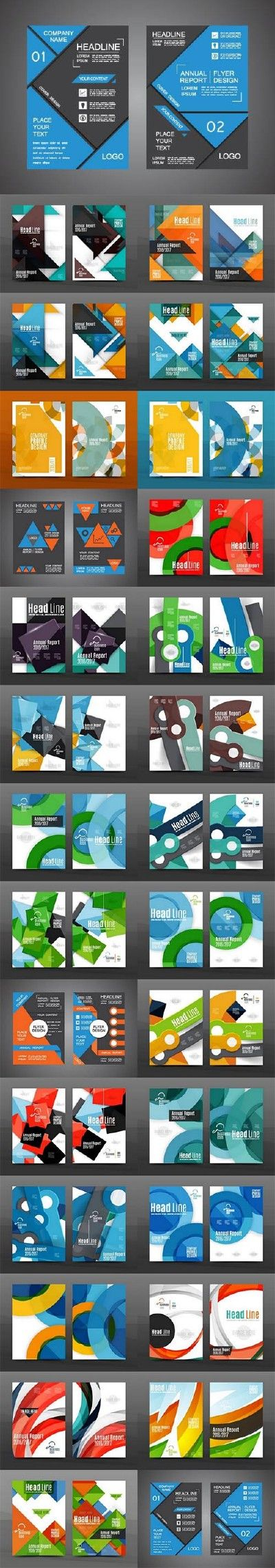 Brochure geometry cover