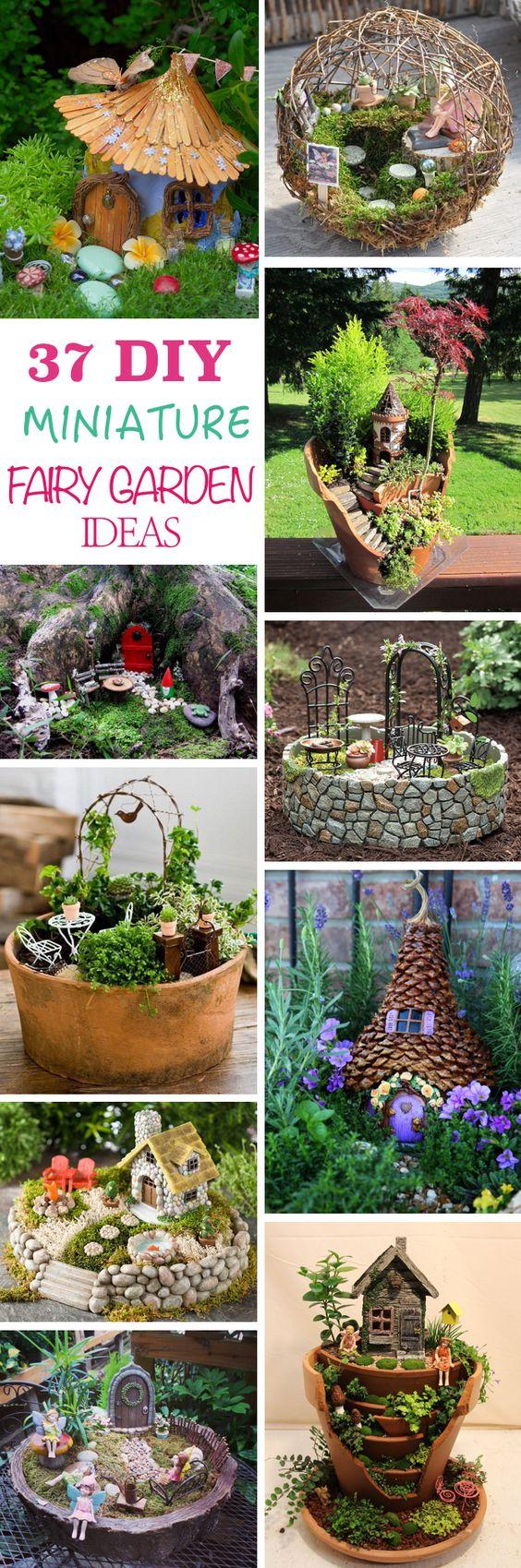 了解如何制作一个DIY迷你童话花园,并为这个迷人而迷人的花园潮流提供创意,适合儿童和成人。破盆仙子花园烧盆?通过thewhoot.com.au2制作一个童话花园!与CastleDIY的童话花园通过www.soycarmin.com3重复使用您的破碎的花盆制作这个美丽的童话花园。 DIY闪闪发光的��滩石仙女HouseStock了