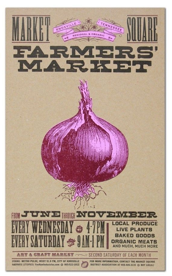 market posters