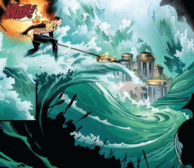 Phoenix Force Namor by Olivier Coipel