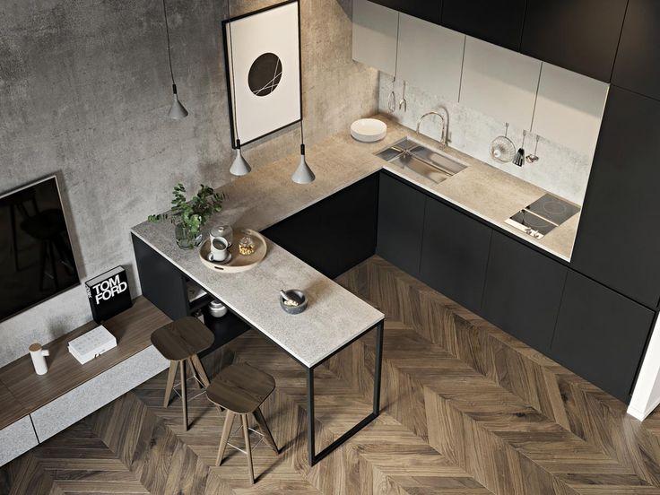 三间舒适的公寓,最大化小空间