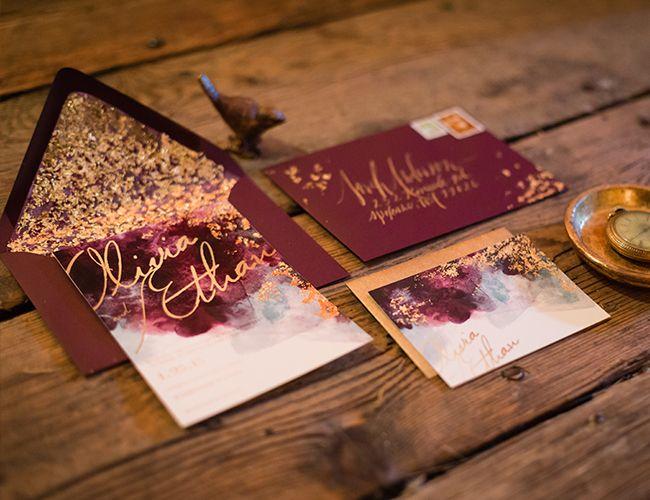你的秋季婚礼色彩指南 - 灵感来自于此