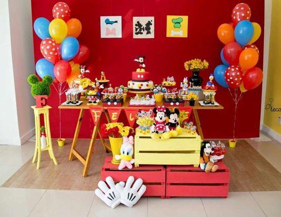 DF设计Eventos儿童派对/米奇老鼠 - 米奇在赶上我的派对