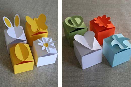 """我们最喜欢的纸艺师Patricia of A Little Hut刚刚在她的店铺中加入了这个名为""""Let's Go""""的小盒子模板"""