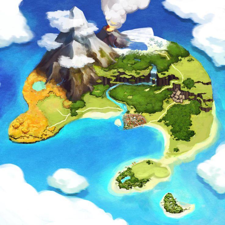 Atelier Annie: Alchemists of Sera Island Art & Pictures World Map