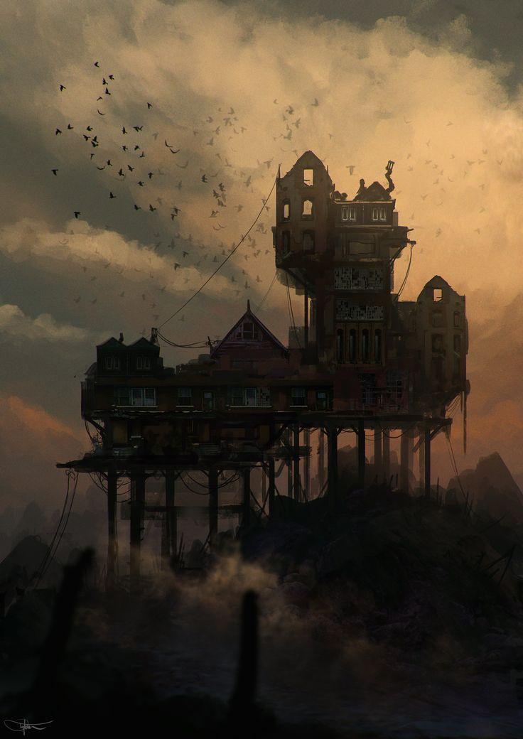 Abandoned House by Daniel Tyka