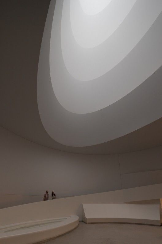 James Turrell Transforms the Guggenheim