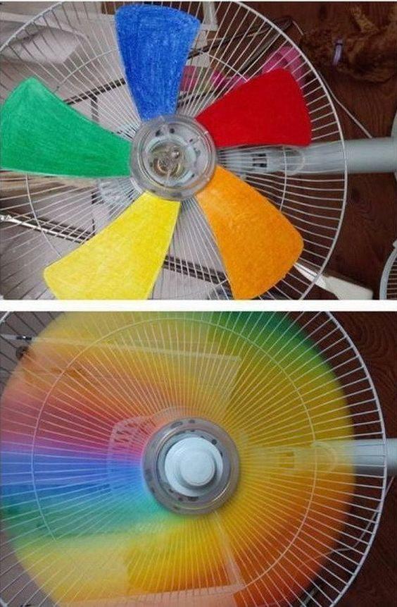 DIY彩虹扇