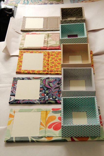 Cartonnage Boxes.