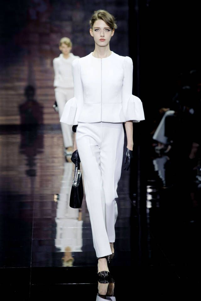 Armani Prive Couture Fall 2014. See all the best looks here.