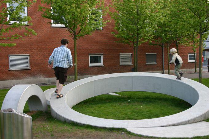 Both art and playground.