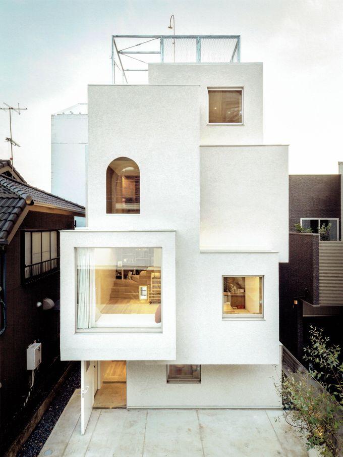 House in the City by Ryosuke Fujii