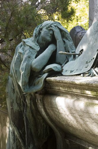Marker- Paul Baudry(1828-1886)详细介绍了法国巴黎Pere Lachaise墓地的第4师。 http://www.thefuneralsource.org/cemeurope.html。 #CemeteryPhotos