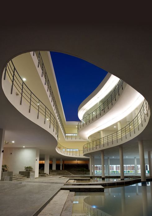 Pearl Academy Of Fashion - Picture gallery #architecture #interiordesign #curves