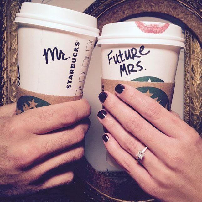 咖啡爱好者的完美参与公告。