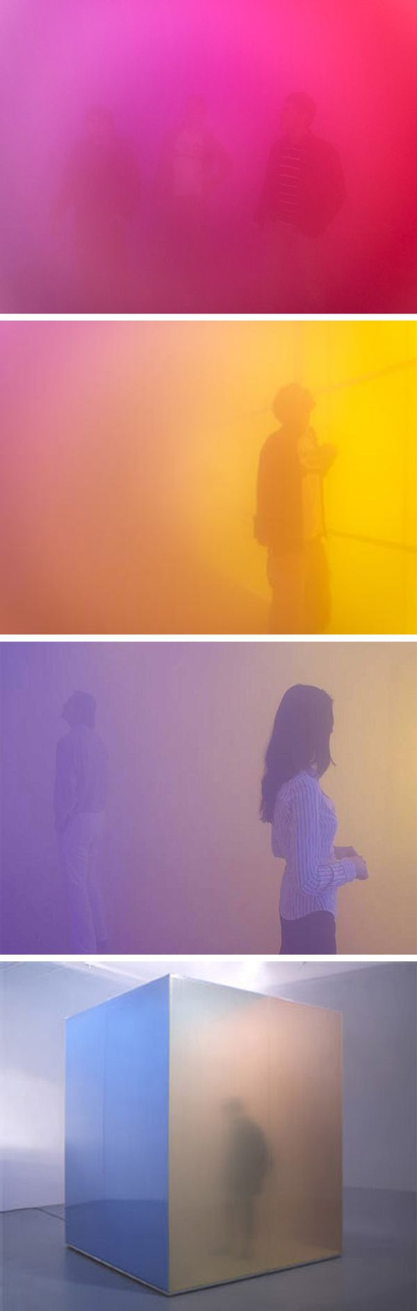 Artist Ann Veronica Janssens: Spacial Temporal Experience with Fog
