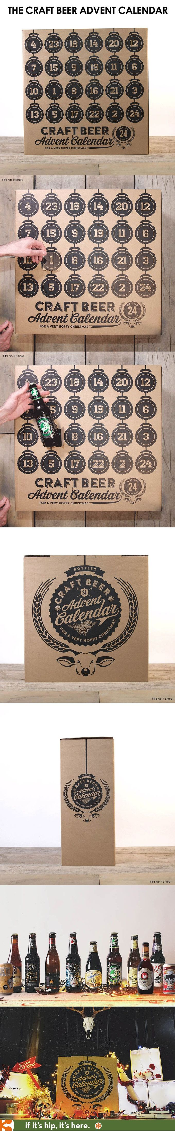 The Christmas Craft Beer Advent Calendar is a festive way to countdown to the Holidays! PD