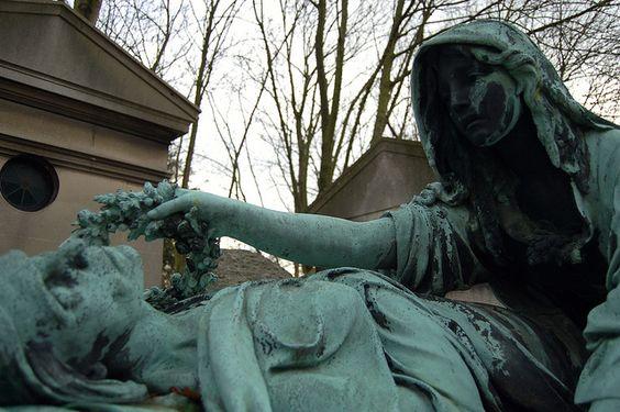 Pere Lachaise公墓,巴黎,法国