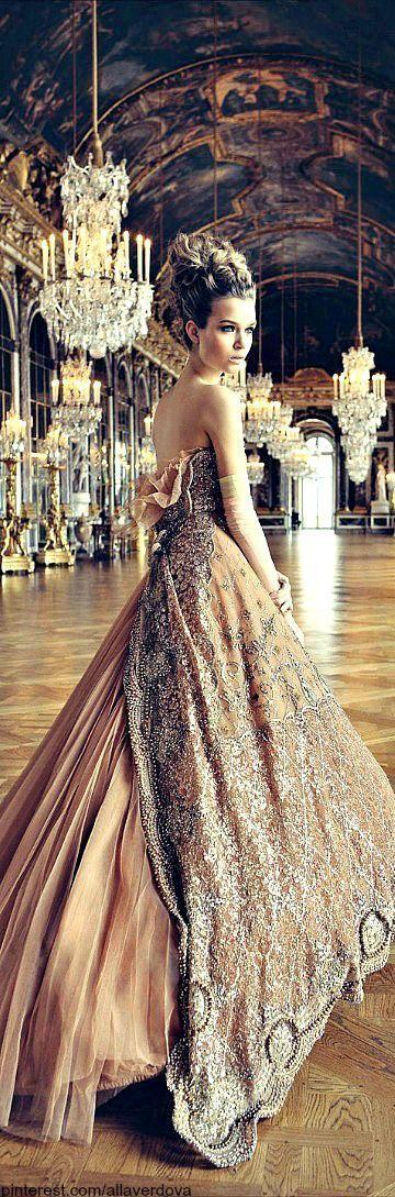 美丽的婚纱礼服想法: