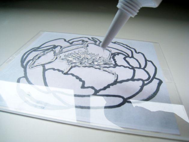 使用填缝制作邮票!