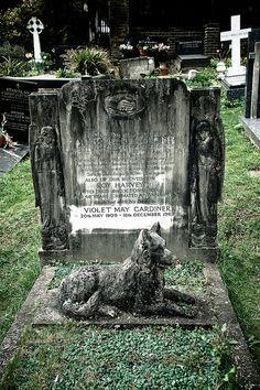 由Folfr通过Rolf F.的Highgate公墓