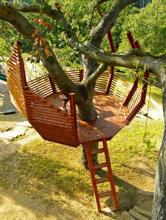 现在是夏季适时建立自己的后院树屋的最佳时机。