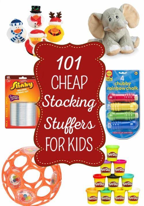 需要孩子们放养节俭和有趣的stuffers?没问题!这里有适合0-18岁儿童使用的101种库存!