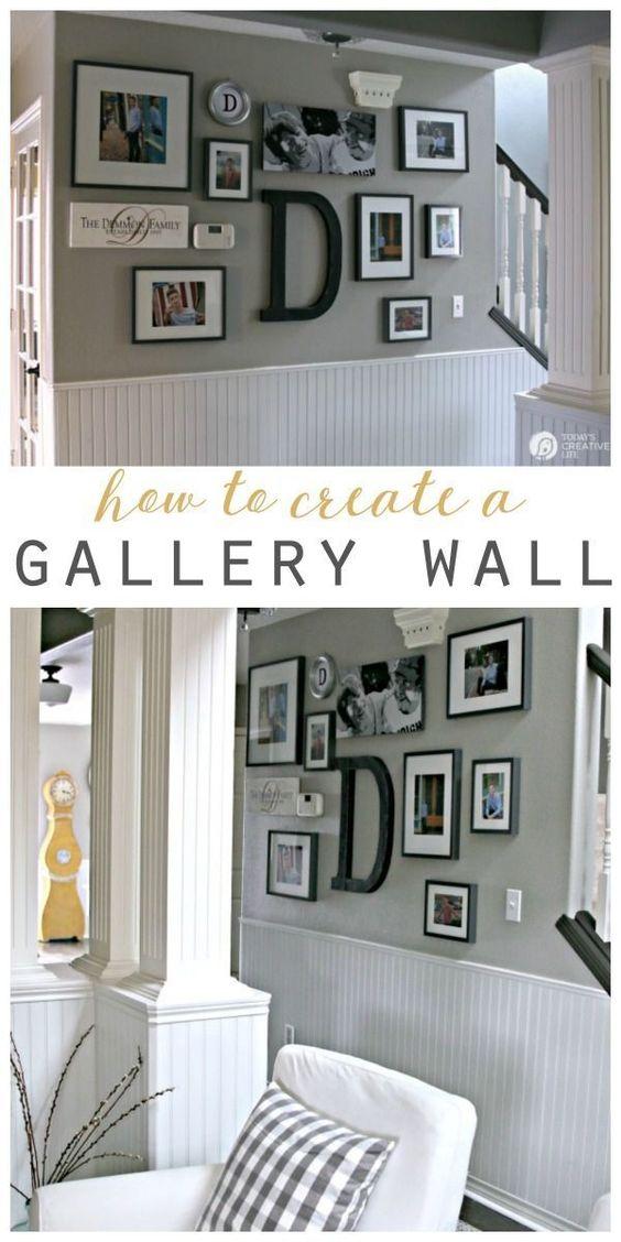 如何挂图片 - 简单的方法。用这些简单的提示和步骤创建一个图片墙或画廊墙。这个挂图片框提示将为您节省!