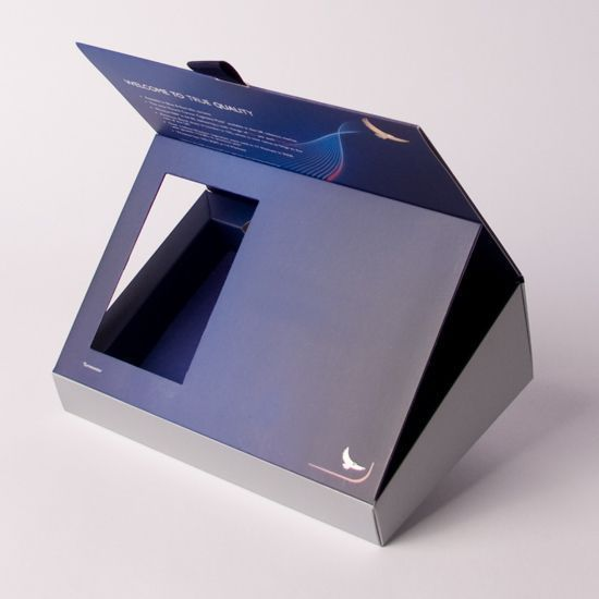 luxury credit card packaging | Products › Packaging › Hinged Lid Box › Angled Presentation Box ...